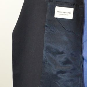Pronto Uomo Suits & Blazers - Pronto Uomo 50L Sport Coat Blazer Suit Jacket Blac